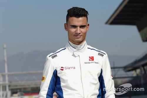 Съемочный день Sauber F1 C36