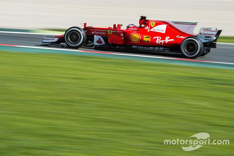 #7 Kimi Raikkonen, Ferrari SF70H