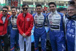 Jackie chan and BAXI DC all drivers(David Cheng,Ho-Pin Tung, Paul-Loup Chatin)