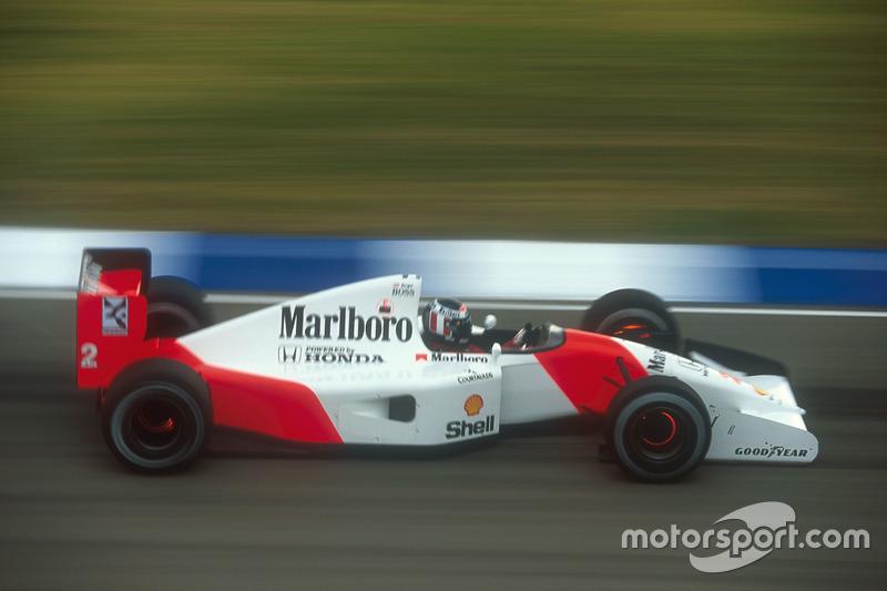 1992 - A Honda anuncia a saída da F1