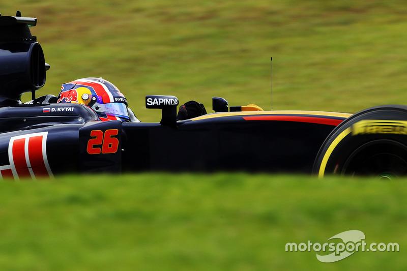 2016 год. За рулем болида Toro Rosso STR11 на субботней тренировке