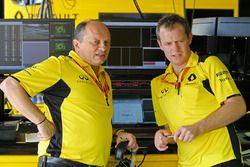 Frederic Vasseur, directeur de la compétition Renault Sport F1 Team