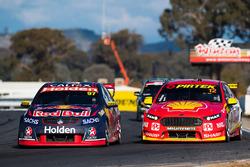 Shane van Gisbergen, Triple Eight Race Engineering Holden, Fabian Coulthard, Team Penske Ford