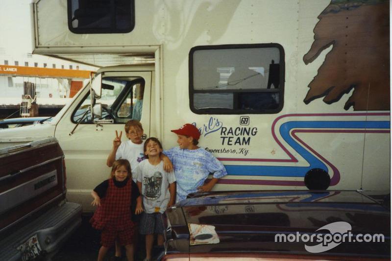 В первой любительской гонке на мини-байках Ники принял участие, когда ему было всего три года.
