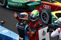 Sébastien Buemi, Renault e.Dams, ve Lucas di Grassi, ABT Schaeffler Audi Sport