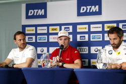 Press Conference, Gary Paffett, Mercedes-AMG Team HWA, Mercedes-AMG C63 DTM, Jamie Green, Audi Sport Team Rosberg, Audi RS 5 DTM, Timo Glock, BMW Team RMG, BMW M4 DTM