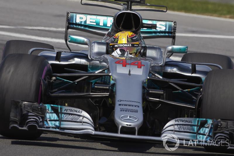 Lewis Hamilton, Mercedes - 2017