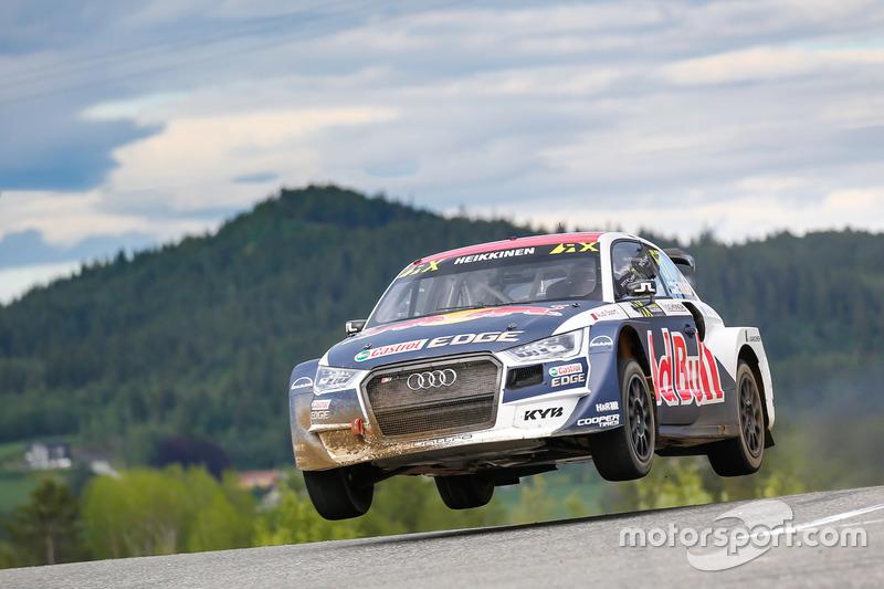 7. Toomas Heikkinen, EKS RX Audi S1
