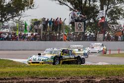Omar Martinez, Martinez Competicion Ford, Gaston Mazzacane, Coiro Dole Racing Chevrolet, Gabriel Pon