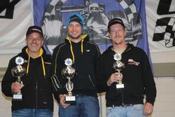 Philipp Krebs, Denis Wolf, Meverick Gerber, podio