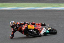 Bo Bendsneyder, Red Bull KTM Ajo crash