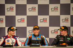 Press Conference: Dorian Boccolacci, Trident, Alessio Lorandi, Jenzer Motorsport, Niko Kari, Arden International