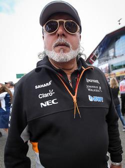 Dr. Vijay Mallya, Sahara Force India Formula One Team Owner