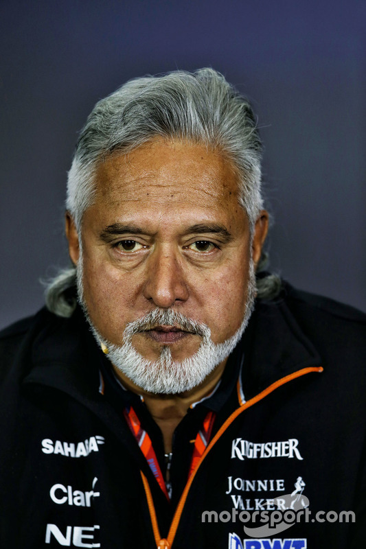 Dr. Vijay Mallya, proprietario del Sahara Force India Formula One Team