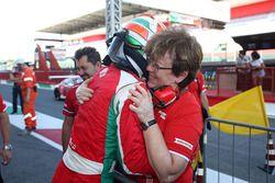 Il vincitore di Gara 2 Juri Vips, Prema Powerteam