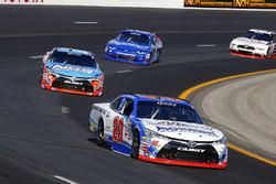 Ryan Preece, Joe Gibbs Racing Toyota and Kyle Busch, Joe Gibbs Racing Toyota