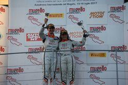 Podio femminile Gara 2: Alessandra Brena, Seat Motor Sport Italia, Alessandra Torresani, Seat Motor Sport Italia