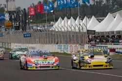 Jonatan Castellano, Castellano Power Team Dodge, Mauricio Lambiris, Martinez Competicion Ford, Agustin Canapino, Jet Racing Chevrolet