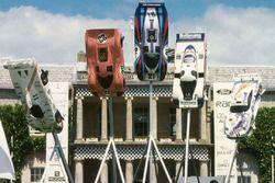Скульптура Porsche с Фестиваля скорости в Гудвуде