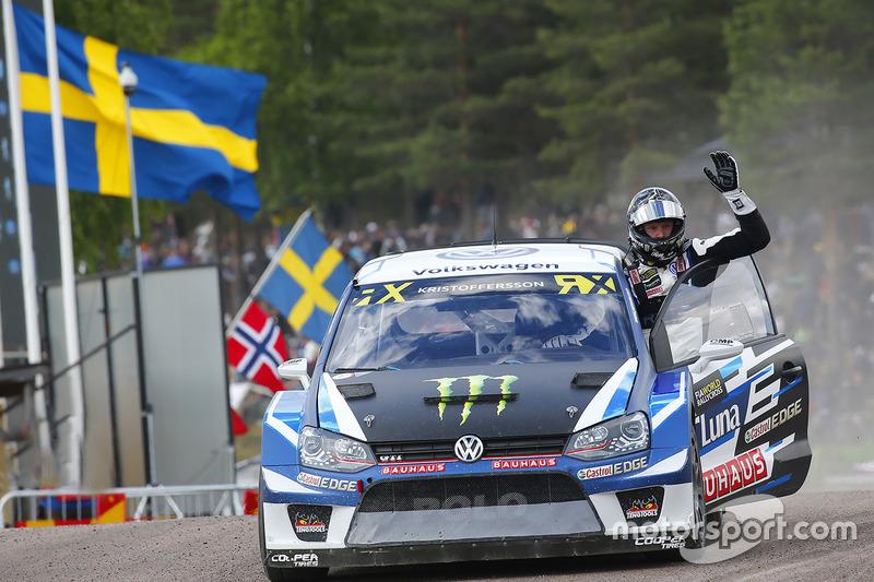 Ganador, Johan Kristoffersson, Volkswagen Team Sweden
