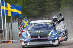 Il vincitore Johan Kristoffersson, Volkswagen Team Sweden