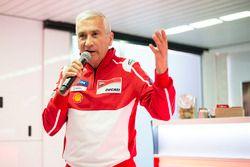 Davide Tardozzi, Ducati Team Teambaas