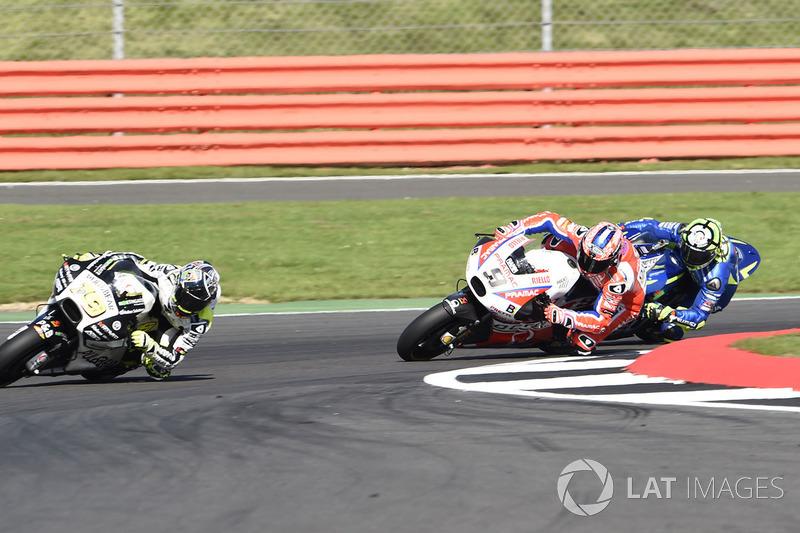 Danilo Petrucci, Pramac Racing Y Andrea Iannone, Team Suzuki MotoGP