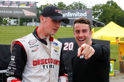 Austin Cindric, Team Penske Ford and James Davison, Joe Gibbs Racing Toyota