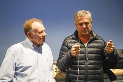 Gil de Ferran, Neil Oatley, diseño y Director de desarrollo para el equipo McLaren fórmula 1