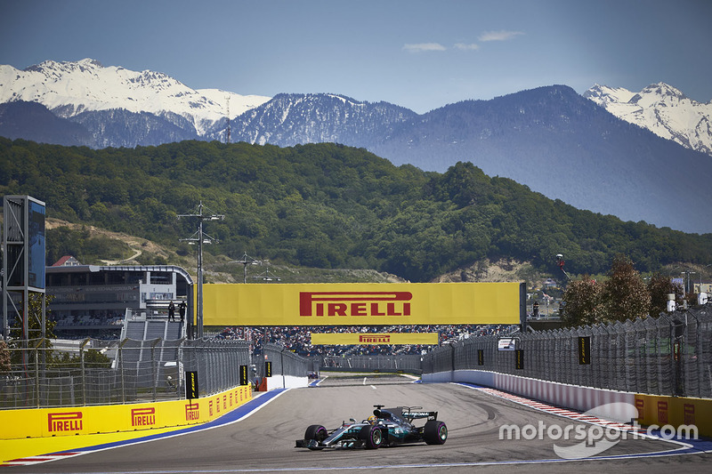 4e Lewis Hamilton, Mercedes AMG F1 W08