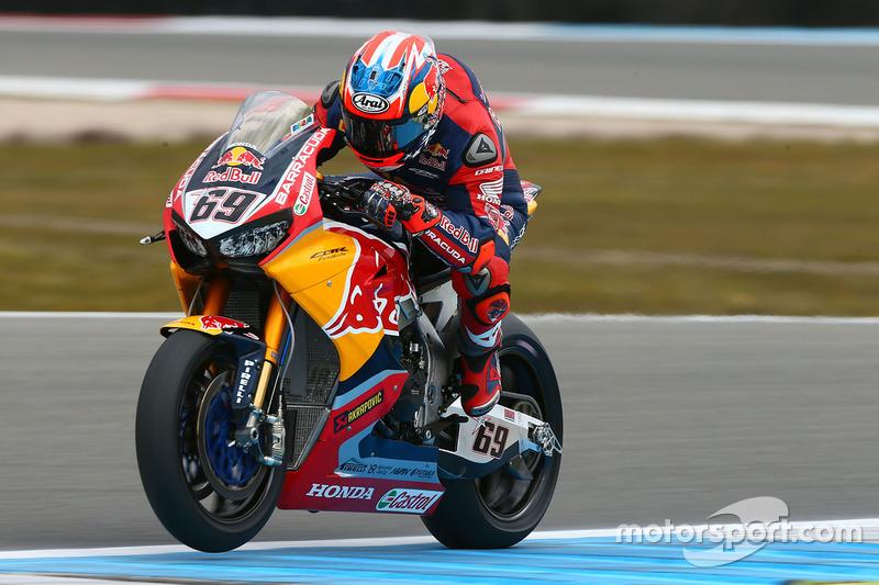 2017: Honda (Superbike) , 13º no campeonato (40 pts), 10 corridas*
