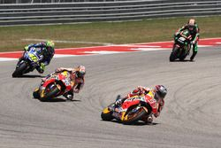 Marc Márquez, Repsol Honda Team, Dani Pedrosa, Repsol Honda Team, Valentino Rossi, Yamaha Factory Ra