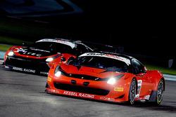 #80 Kessel Racing Ferrari 458 GT3 Deborah Mayer, Sergio Pianezzola, Claudio Schiavoni