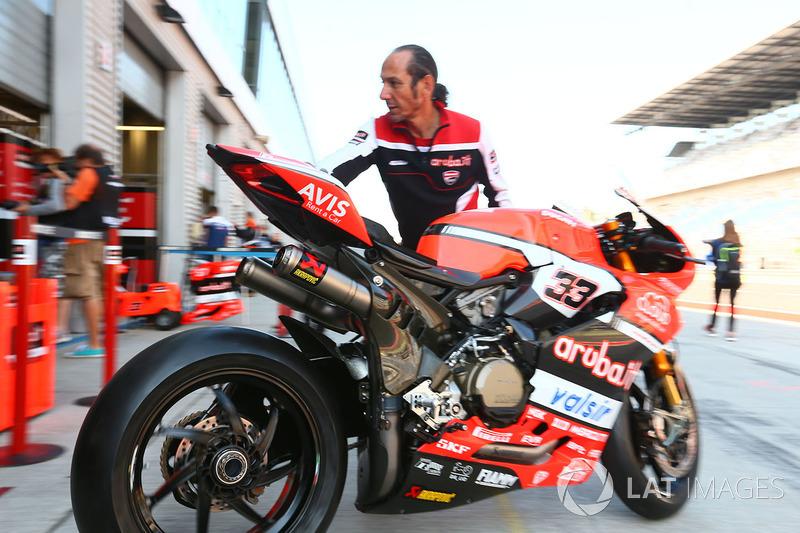 Marco Melandri, Ducati Team bike