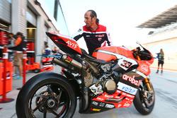 La moto di Marco Melandri, Ducati Team