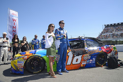 Kyle Busch, Joe Gibbs Racing Toyota, Samantha Busch