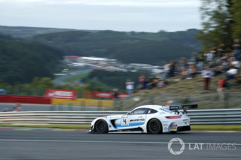#4 Black Falcon Mercedes-AMG GT3: Adam Christodoulou, Yelmer Buurman, Luca Stolz