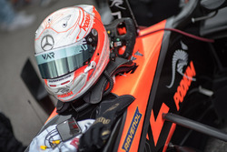 Helmet of Joey Mawson, Van Amersfoort Racing, Dallara F317 - Mercedes-Benz