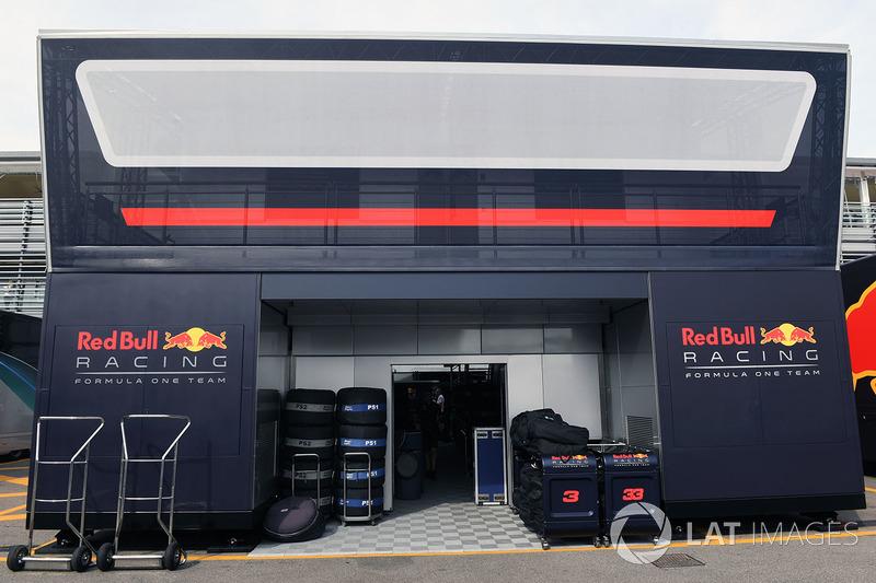 Red Bull motorhome