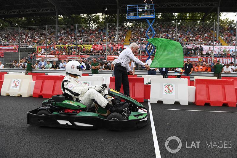 Karting bandera verde