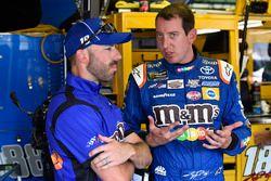 Kyle Busch, Joe Gibbs Racing Toyota, Adam Stevens