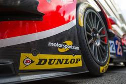 Un logo Motorsport sur une CEFC Manor