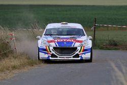 Kevin Abbring, Pieter Tsjoen, Peugeot 208 T16