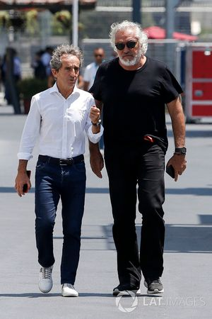Alain Prost, Renault Sport F1 Team Special Advisor en Flavio Briatore