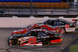 Christopher Bell, Joe Gibbs Racing Toyota, Ross Chastain, JD Motorsports Chevrolet