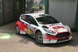 Danilo Bianchi, Silvio Lubello, Ford Fiesta R5, Lugano Racing Team