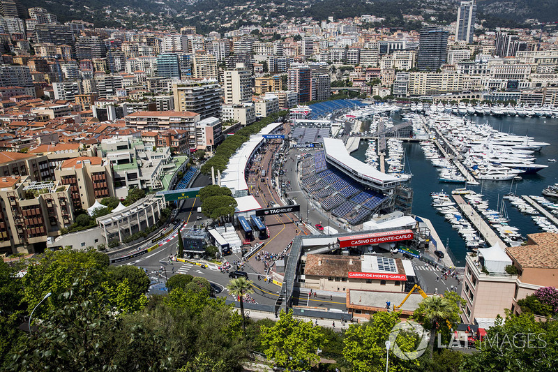 Монако (в календаре Ф1 – 1950, 1955-2017)