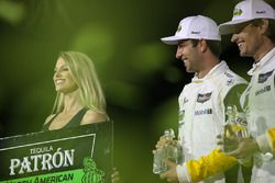 GTLM podium: winners Antonio Garcia, Mike Rockenfeller, Corvette Racing
