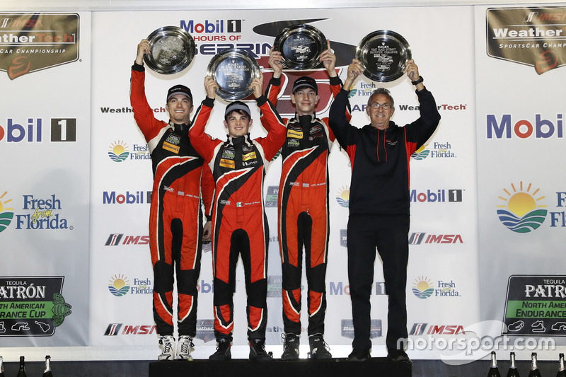 1. PC: #38 Performance Tech Motorsports, ORECA FLM09: James French, Kyle Mason, Patricio O'Ward