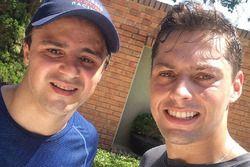 Alex Azevedo y Felipe Massa